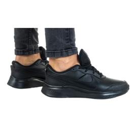Buty Nike Vesity Leather Gs Jr CN9146-001 czarne czerwone