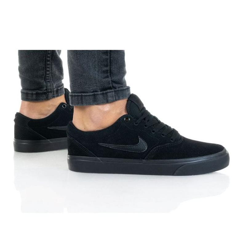Buty Nike Sb Charge Suede (GS) Jr CT3112-001 czarne