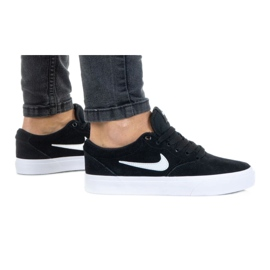 Buty Nike Sb Charge Suede (GS) Jr CT3112-002 czarne
