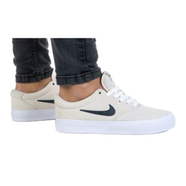 Buty Nike Sb Charge Suede (GS) Jr CT3112-100 szare