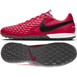 Buty piłkarskie Nike Tiempo Legend 8 Academy Tf M AT6100 608 czerwone czerwone