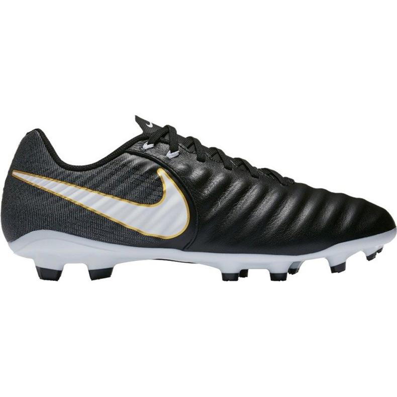 Buty piłkarskie Nike Tiempo Ligera Iv Fg 897744 002 czarne czarne