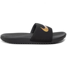 Klapki dla dzieci Nike Kawa Slide(GS/PS) czarne 819352 003