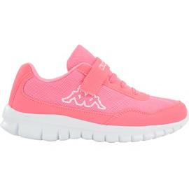 Buty dla dzieci Kappa Follow K różowe 260604K 7210