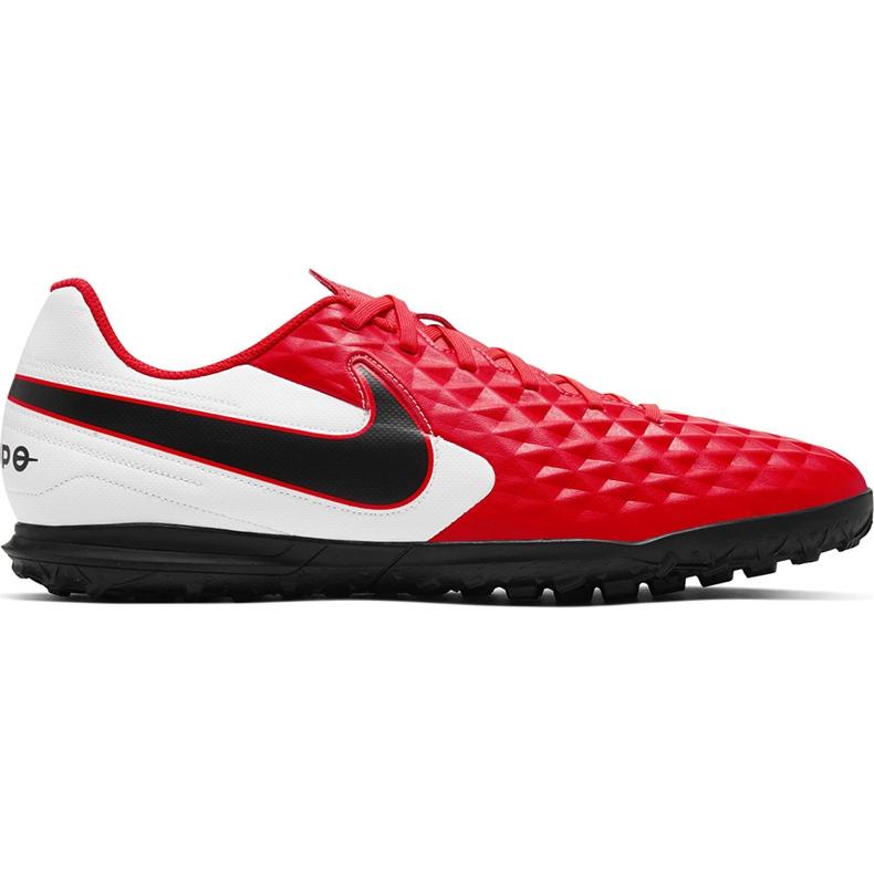Buty piłkarskie Nike Tiempo Legend 8 Club Tf AT6109 606 czerwone czerwone