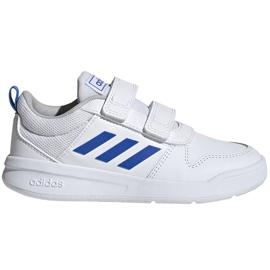 Buty dla dzieci adidas Tensaur C biało-niebieskie EF1096
