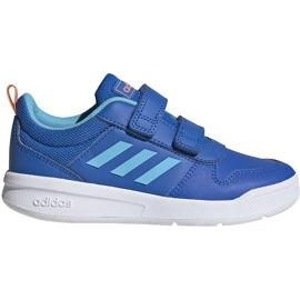 Buty dla dzieci adidas Tensaur C niebieskie EG4090