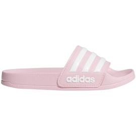 Klapki dla dzieci adidas Adilette Shower K różowe G27628