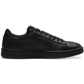 Buty dla dzieci Puma Smash v2 L Jr czarne 365170 01