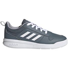 Buty dla dzieci adidas Tensaur K szare FV9450
