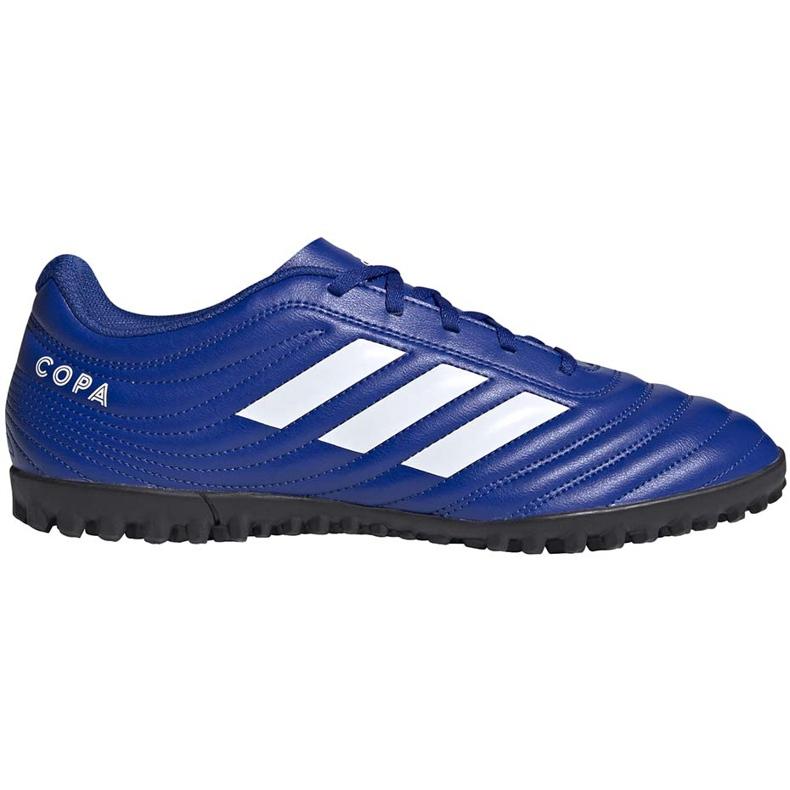 Buty piłkarskie adidas Copa 20.4 Tf niebieskie EH1481