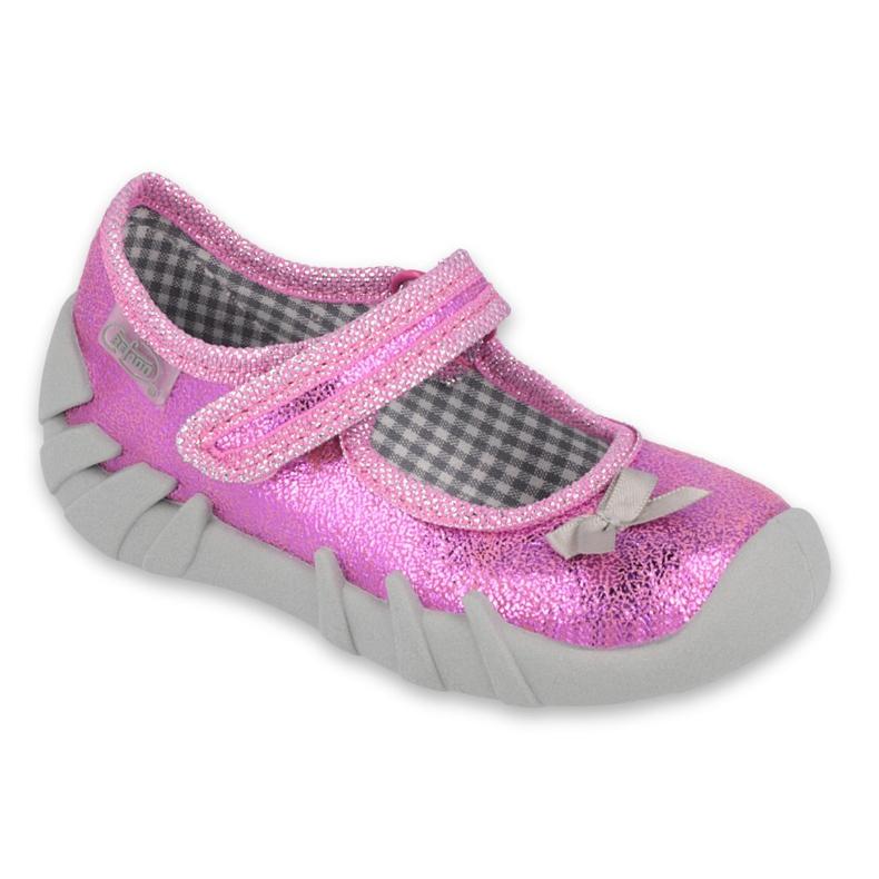Befado obuwie dziecięce 109P212 różowe