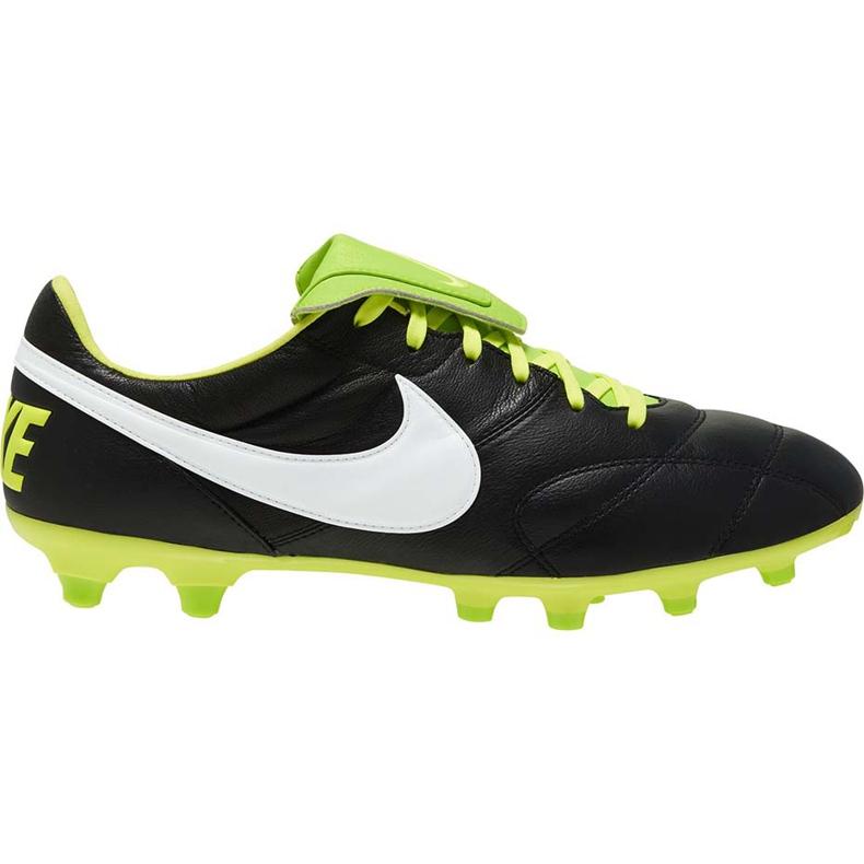 Buty piłkarskie Nike The Premier Ii Fg 917803 013 czarne czarne