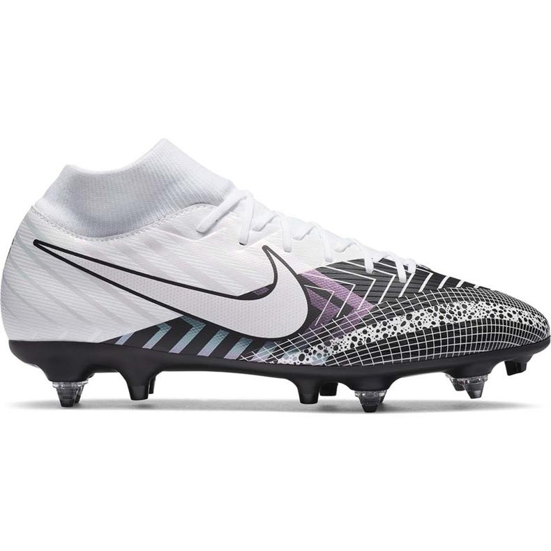 Buty piłkarskie Nike Mercurial Superfly 7 Academy Mds SG-Pro Ac DB4351 110 białe białe