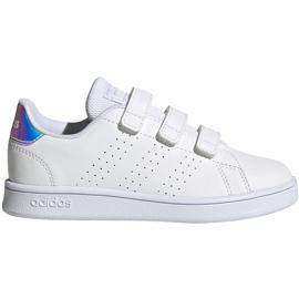 Buty dla dzieci adidas Advantage C białe FY4625