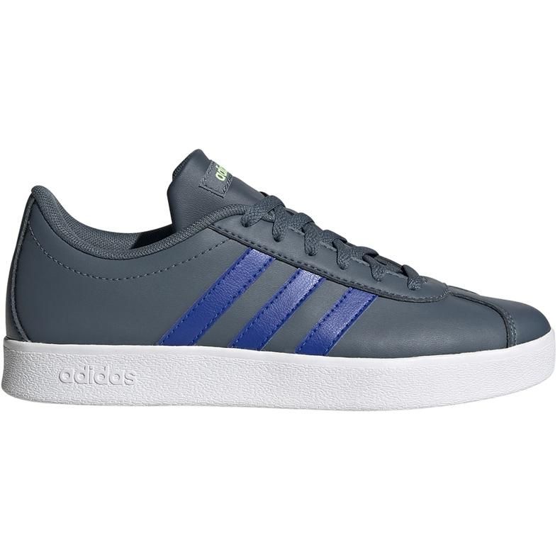 Buty dla dzieci adidas Vl Court 2.0 zielone FW3934 wielokolorowe