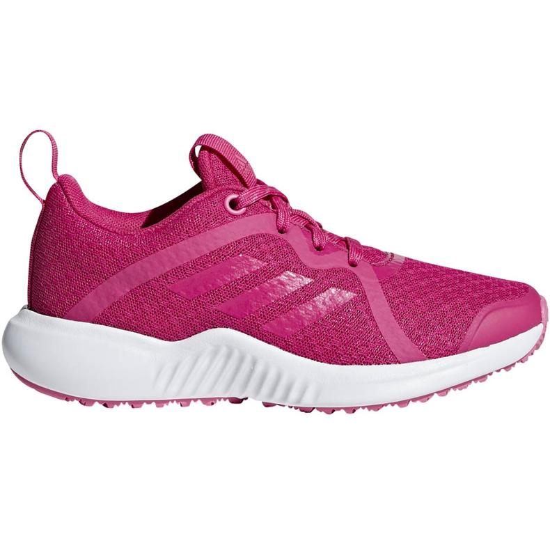 Buty adidas FortaRun X K różowe D96949