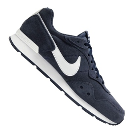 Buty Nike Venture Runner Suede M CQ4557-400 białe granatowe