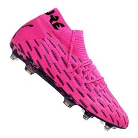 Buty piłkarskie Puma Future 6.1 Netfit Fg / Ag M 106179-03 różowy,czarny różowe