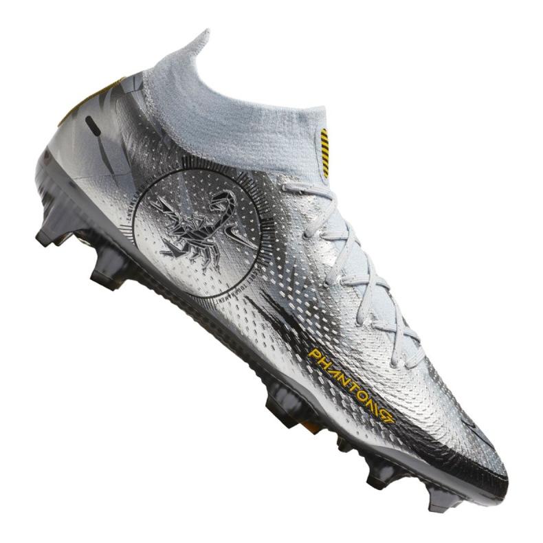 Buty piłkarskie Nike Phantom Gt Elite Df Se Fg M CZ3844-001 srebrny wielokolorowe