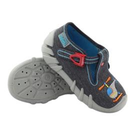 Befado obuwie dziecięce kapcie 110p307 3