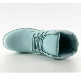 Timberki mono-colour niebieskie BL83 Blue 2