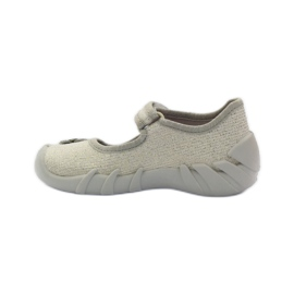 Befado obuwie dziecięce kapcie balerinki 109p163 2