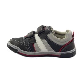 American Club ADI buty dziecięce sportowe na rzepy American 152625 szare 2