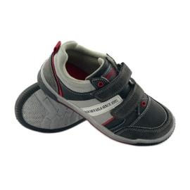 American Club ADI buty dziecięce sportowe na rzepy American 152625 szare 3