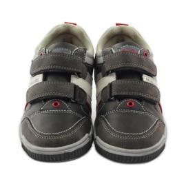 American Club ADI buty dziecięce sportowe na rzepy American 152625 szare 4