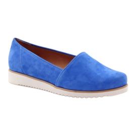 Półbuty damskie Badura niebieskie 1
