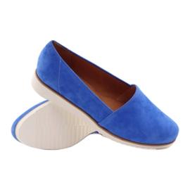Półbuty damskie Badura niebieskie 3