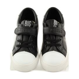 Trampki sportowe czarne Big star 374039 4