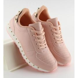 Buty sportowe z ćwiekami różowe BK-85 Pink 1