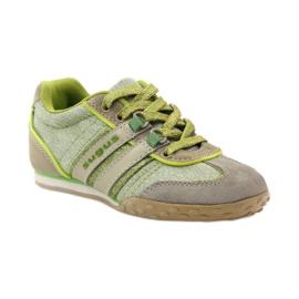 Buty sportowe dziewczęce Sugus 3385 żółte zielone 1