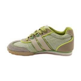 Buty sportowe dziewczęce Sugus 3385 żółte zielone 2