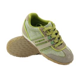 Buty sportowe dziewczęce Sugus 3385 żółte zielone 3