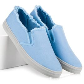 Seastar Niebieskie Slipony 4