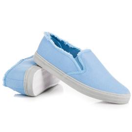 Seastar Niebieskie Slipony 3