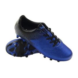 American Club Sportowe korki chłopięce American 170604 niebieskie 3