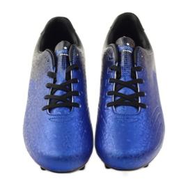 American Club Sportowe korki chłopięce American 170604 niebieskie 4