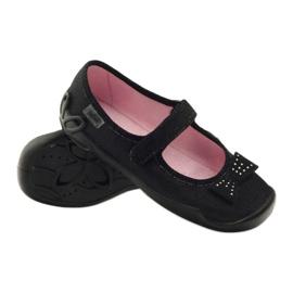 Befado obuwie dziecięce kapcie balerinki 114y240 3