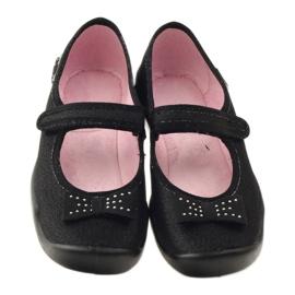 Befado obuwie dziecięce kapcie balerinki 114y240 4