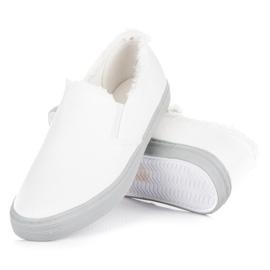 Seastar Białe Slipony 4