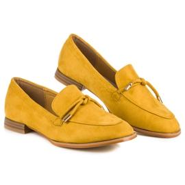 Vices Wiosenne mokasyny żółte 2