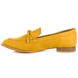Vices Wiosenne mokasyny żółte 4