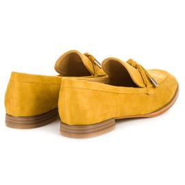 Vices Wiosenne mokasyny żółte 5