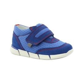 Buty sportowe trampki na rzep Bartek 31949 niebieskie 1