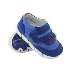 Buty sportowe trampki na rzep Bartek 31949 niebieskie 3