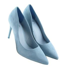 Szpilki damskie niebieskie GF-JX78 L.BLUE 4